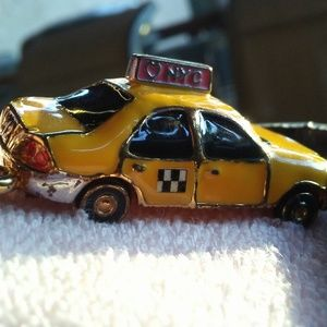 Juicy Couture NYC Yellow Taxi Cab Charm